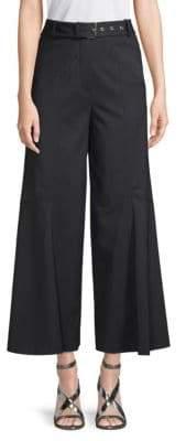 Derek Lam Belted Flare Pants