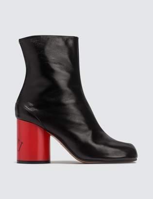 Maison Margiela Tabi Hologram Leather Boots