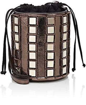 Tomasini Women's Pise Leather Bucket Bag - Bronze