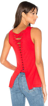 Bailey 44 Plantain Top in Red $147 thestylecure.com