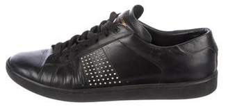 Saint Laurent Leather Embellished Sneakers