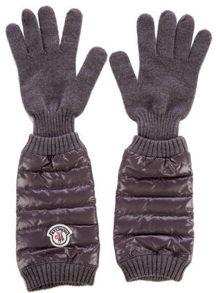Moncler Moncler Wool Down Gloves