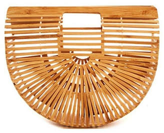 Hunter Catherine K Collections Bamboo Clutch