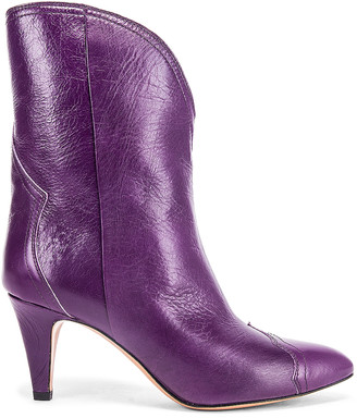 Isabel Marant Dythey Boot in Purple | FWRD