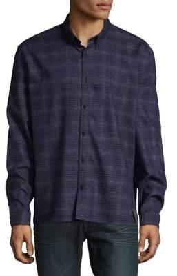 Calvin Klein Jeans Checkered Button-Down Shirt