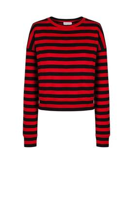 Sonia Rykiel Long-Sleeved Breton T-Shirt