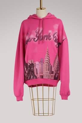 Balenciaga New York City oversize sweatshirt