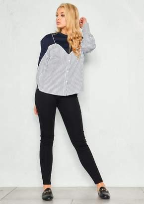 487541800efc Missy Empire Missyempire Taylor Black High Waist Skinny Jeans