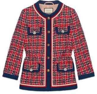 Gucci Tweed check jacket