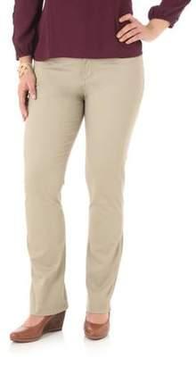 Lee Riders Women's mid rise slim straight jeans