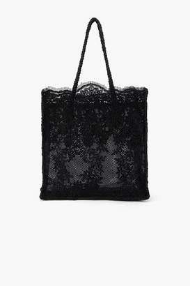 Genuine People Lace Shoulder Bag
