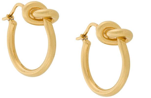 CelineCéline knot earrings