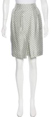 Fabiana Filippi Silk Knee-length Skirt