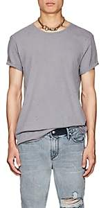 Ksubi Men's Kodeine Distressed Cotton Crewneck T-Shirt - Gray