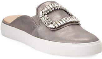 Karl Lagerfeld Paris Edee Embellished Mule Sneakers