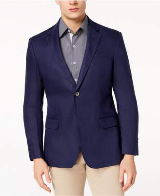 Tasso Elba Men's Linen 2-Button Blazer