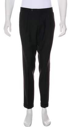 Dolce & Gabbana Wool Pleated Pants