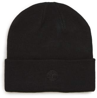 Timberland Embroidered Logo Cuff Beanie