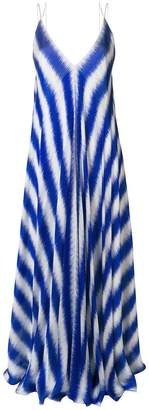 Maison Rabih Kayrouz striped maxi slip dress