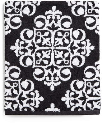 Charter Club Elite Fashion Medallion Cotton Bath Towel, Created for Macy's Bedding