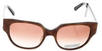 Judith Leiber Embellished Tortoiseshell Sunglasses w/ Tags
