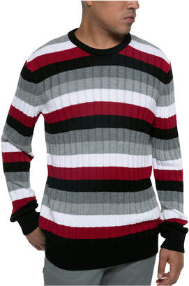 Kenneth Cole Men Striped Ribbed Sweater