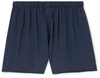 Sunspel Silk Boxer Shorts