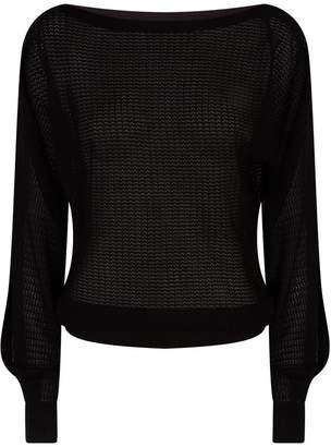 AllSaints Split Sleeve Sweater