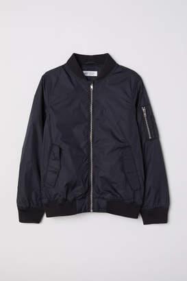 H&M Bomber Jacket - Black