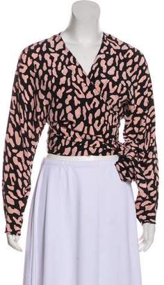 Diane von Furstenberg 2017 Wrap Top w/ Tags