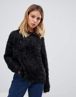 Weekday Sparkle Fluffy Knit