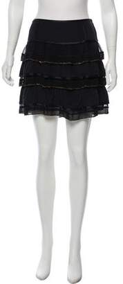 Marc Jacobs Embellished Mini Skirt