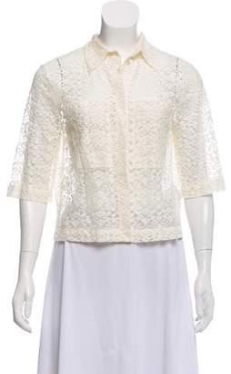 Stella McCartney Lace Short Sleeve Top w/ Tags