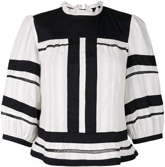 Etoile Isabel Marant stripe panel top