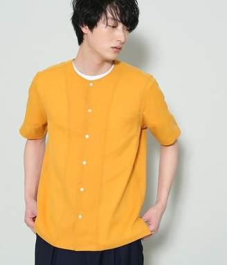 JUNRed (ジュンレッド) - ジュンレッド ドレープノーカラーシャツ半袖