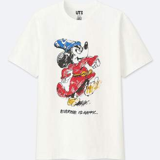 Uniqlo Mickey Art Short-sleeve Graphic T-Shirt (james Jarvis)