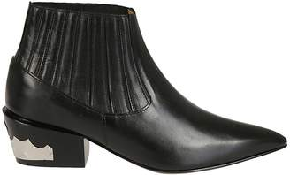 Toga Pulla Western Style Ankle Boots