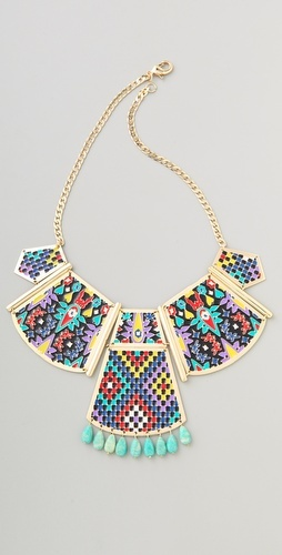 Noir jewelry Hacienda Statement Necklace