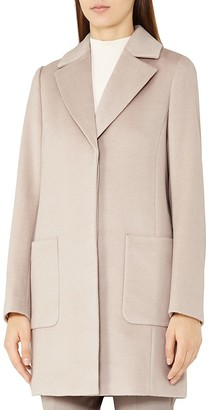 REISS Harmony Wool Coat $540 thestylecure.com