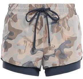 Koral Layered Jacquard Shorts