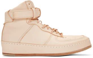 BEIGE Hender Scheme Manual Industrial Products 01 High-Top Sneakers