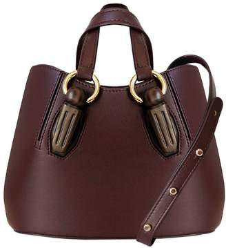 Mulberry AEVHA London - Mini Garnet Tote In With Wooden Hardware