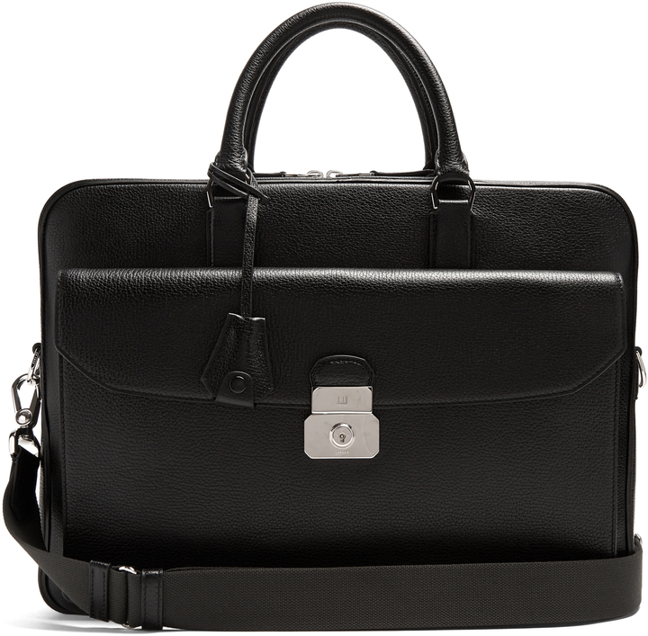 Alfred DunhillDUNHILL Albany leather briefcase