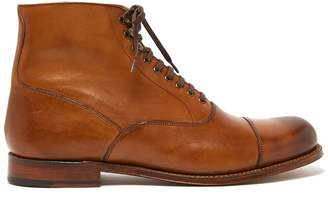 Grenson Leander lace-up leather boots