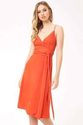 Forever 21 Midi Wrap Dress