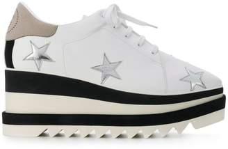 Stella McCartney star embellished platform sneakers