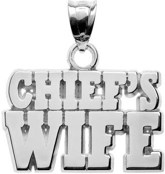 "Insignia Collection Sterling Silver ""Chief's Wife"" Pendant"