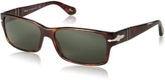 Persol PO2803S Sunglasses 24/31 Brown Havana Frame Grey Crystal Lens 58 MM