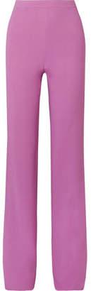 Emilio Pucci Stretch-crepe Wide-leg Pants - Pink