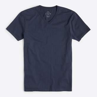 J.Crew Factory J.Crew Mercantile tall slim Broken-in V-neck T-shirt